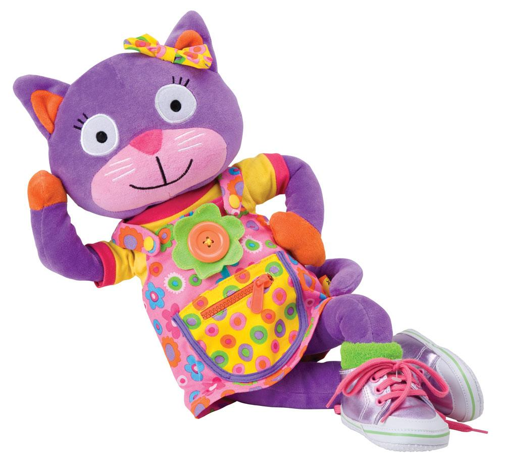 Amazon.com: ALEX Toys Little Hands Learn To Dress Kitty ...