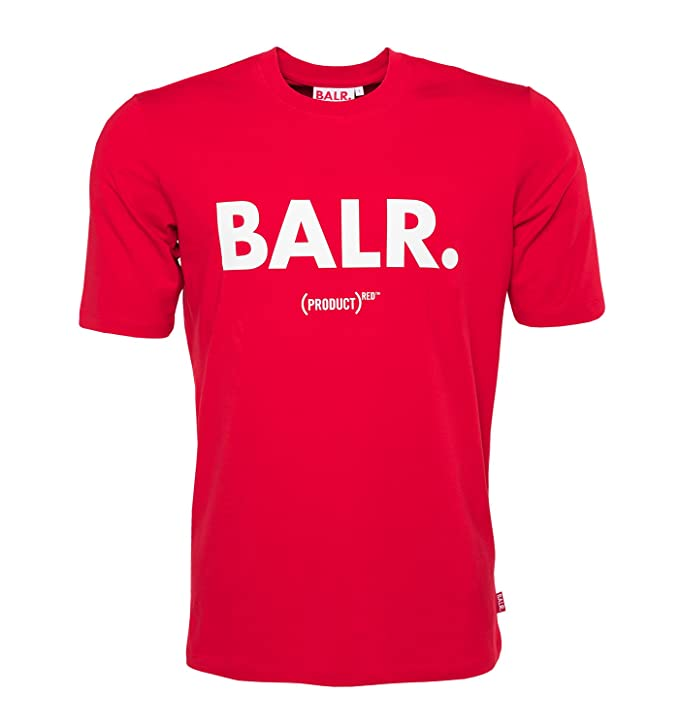 new style outlet boutique elegant appearance BALR. Men's Classic Brand Shirt RED
