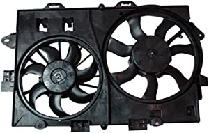 CPP Radiator Cooling Fan Assembly for Chevrolet Equinox, Pontiac Torrent, Suzuki XL-7 GM3115226