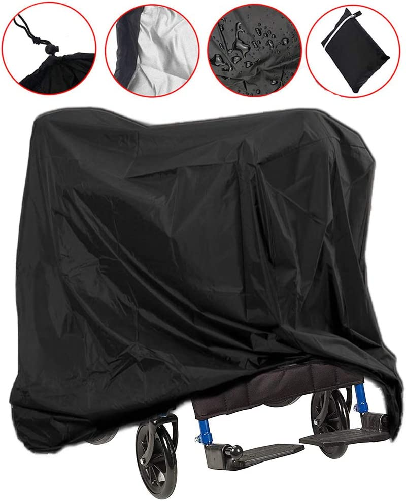 Lmeison Wheelchair Cover, Waterproof Mobility Scooter Outdoor Storage Cover Lightweight Rain Protector from Dust Dirt Snow Rain Sun Rays - 67 x 24 x 46 inch (L x W x H): Automotive