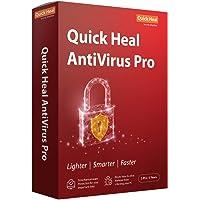 Quick Heal Antivirus Pro Latest Version -  2 PCs, 3 Years (DVD)