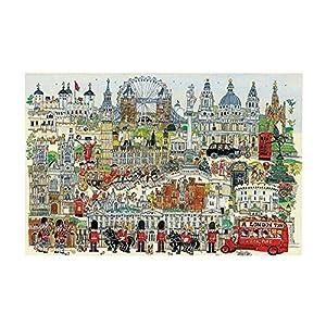 Black Temptation Londra Puzzle Di 1000 Pezzi In Legno Jigsaw Puzzle Classico Giocattolo
