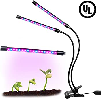 Koopower Dual Head 18W 2 Levels LED Plant Grow Light