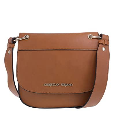 Christian Siriano Women s Beatrice Crossbody Brown Shoulder Bag ... 1c55384b5cff
