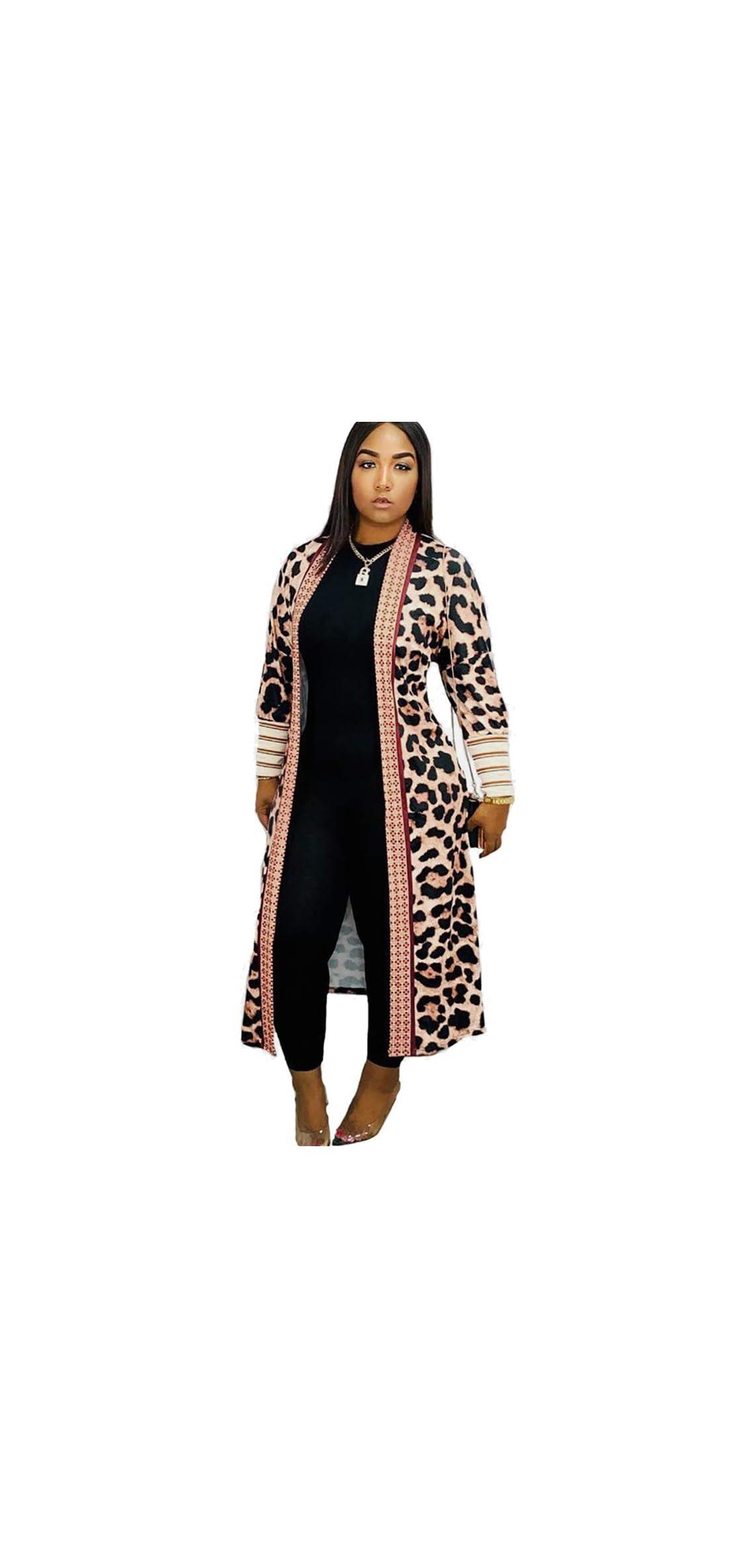Long Cardigan For Women Lightweight Open Front Jacket Coat