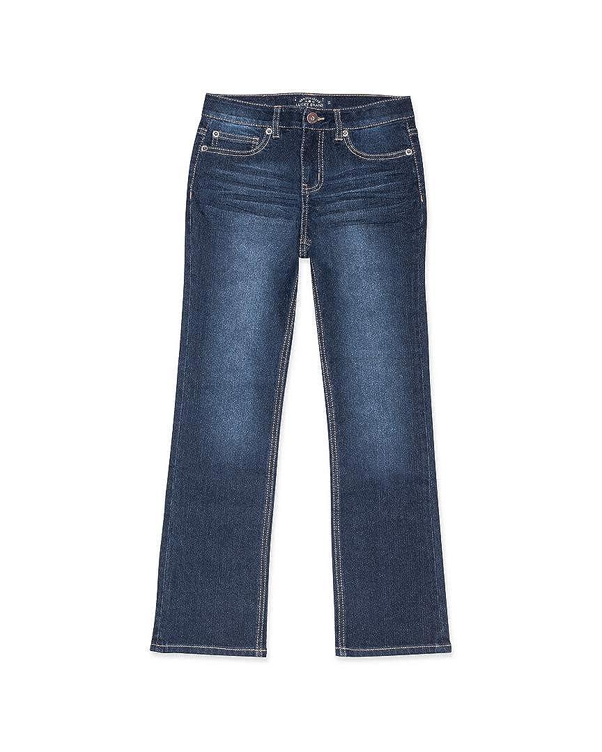 Lucky Brand Kids Girls Deandra Bootcut Jeans in Barrier Wash Big Kids
