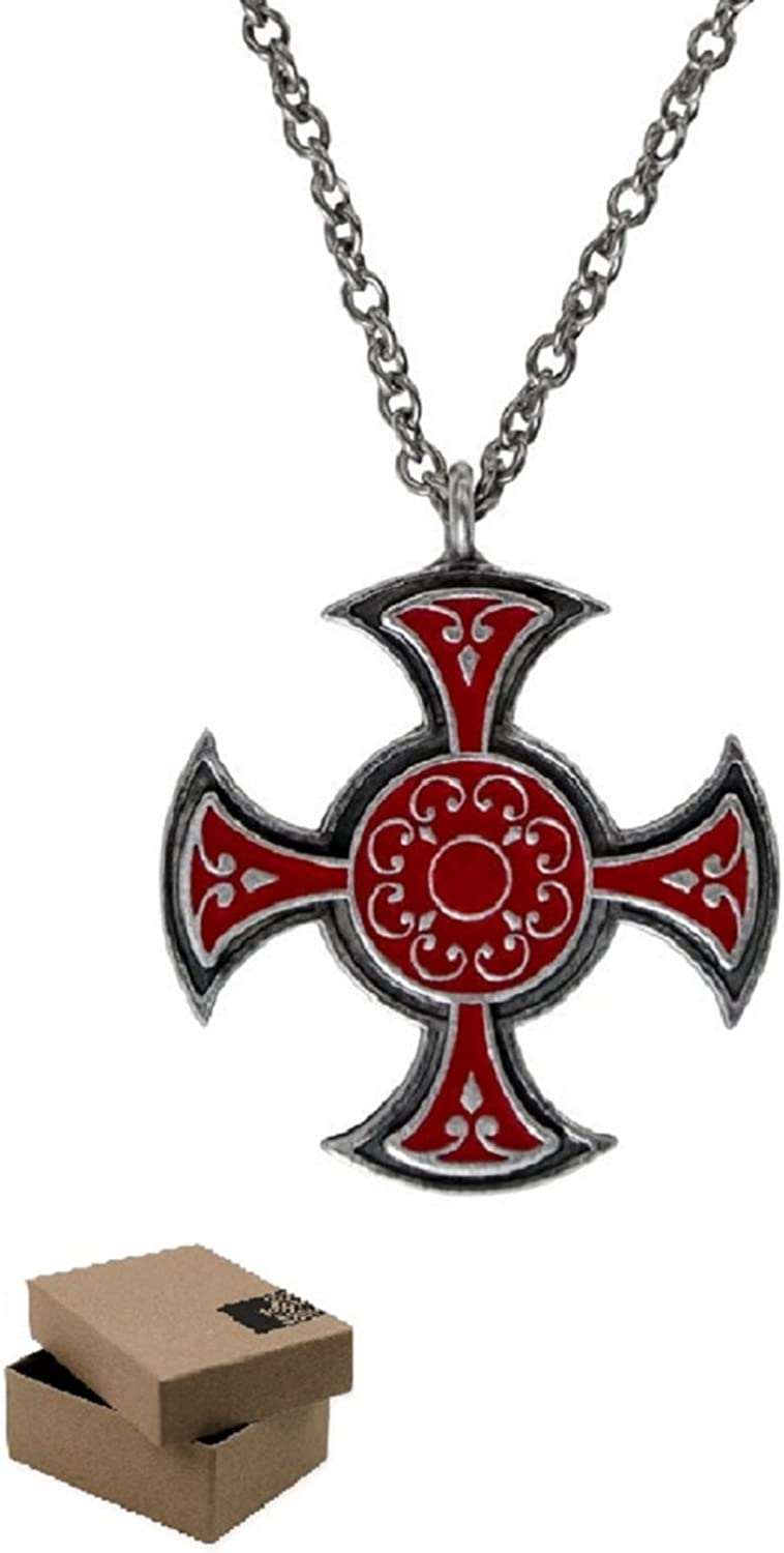 Assassin S Creed Syndicate Starrick Templar Necklace Official