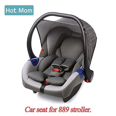 Hot Mom Car Seat Group 0 + (0-13 kg) Gray