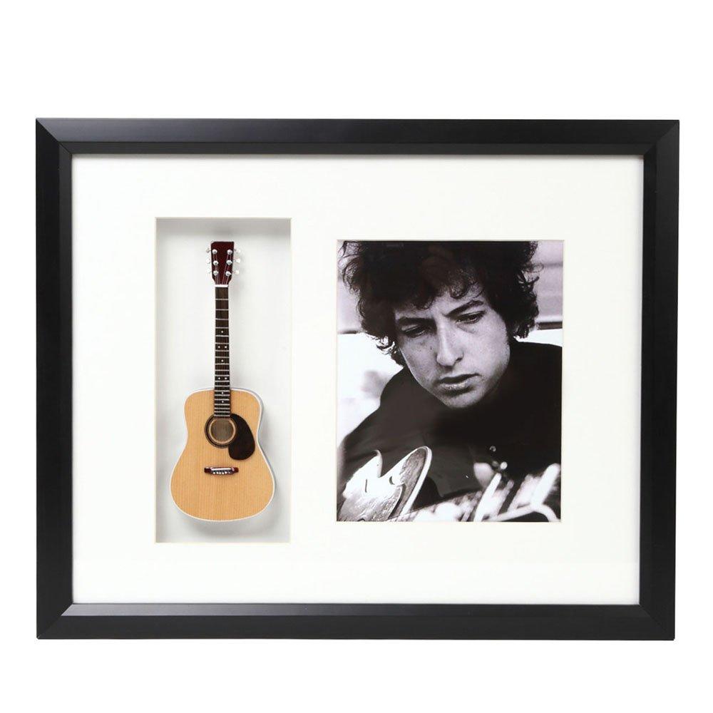 最初の  BOB DYLAN ボブディラン Shadow - B01MQTNHIL Mini Guitar Framed Shadow Box Framed/ミニチュア楽器【公式/オフィシャル】 B01MQTNHIL, 竹布の店 ベコ:316de586 --- efichas.com.br