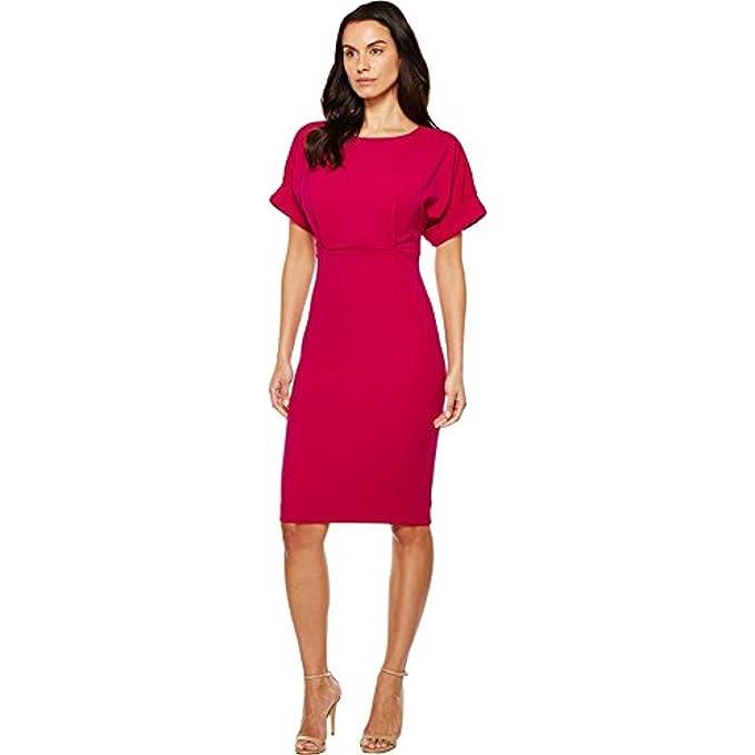 366f1405 Badgley Mischka Women's Dolman Sheath Dress Magenta Dress: Amazon.ca ...