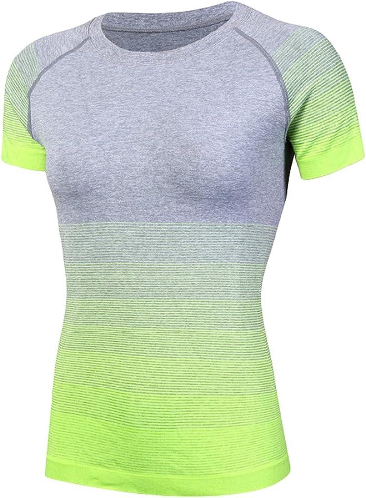ZKOO Tapa Camiseta Chaleco Deportes para Mujeres del Aptitud De Yoga Que Se Ejecutan