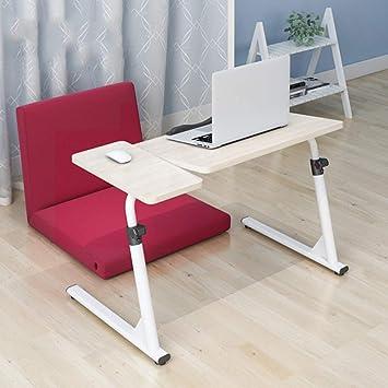 DPS&RXX Rolling Laptop Stand | Muy Robusto y Ajustable | Soporte portátil Ajustable portátil con Almohadilla