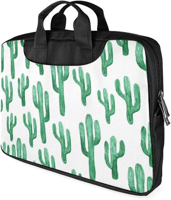 Lovely Cactus Floral Laptop Sleeve Case 15 15.6 Inch Briefcase Cover Protective Notebook Laptop Bag