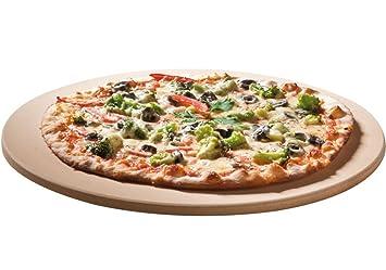 Pizzastein Für Gasgrill Outdoorchef : Santos premium pizzastein rund cm Ø bis grad für