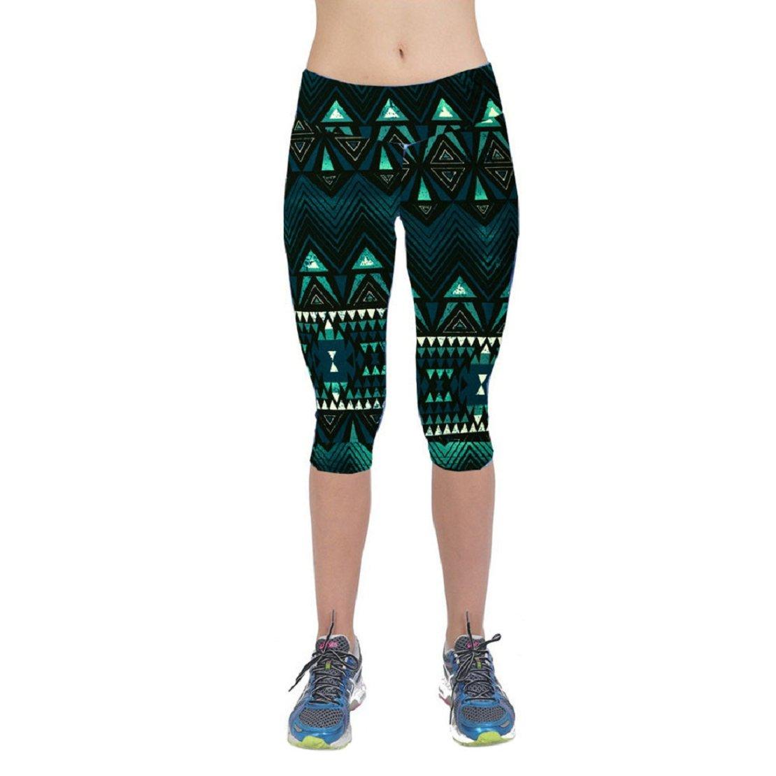 Lookatool Clearance Women's 3D Print Yoga Pants Skinny Workout Gym Leggings