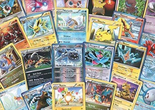 100 Assorted Pokemon Cards with Foils & Bonus Mew ()