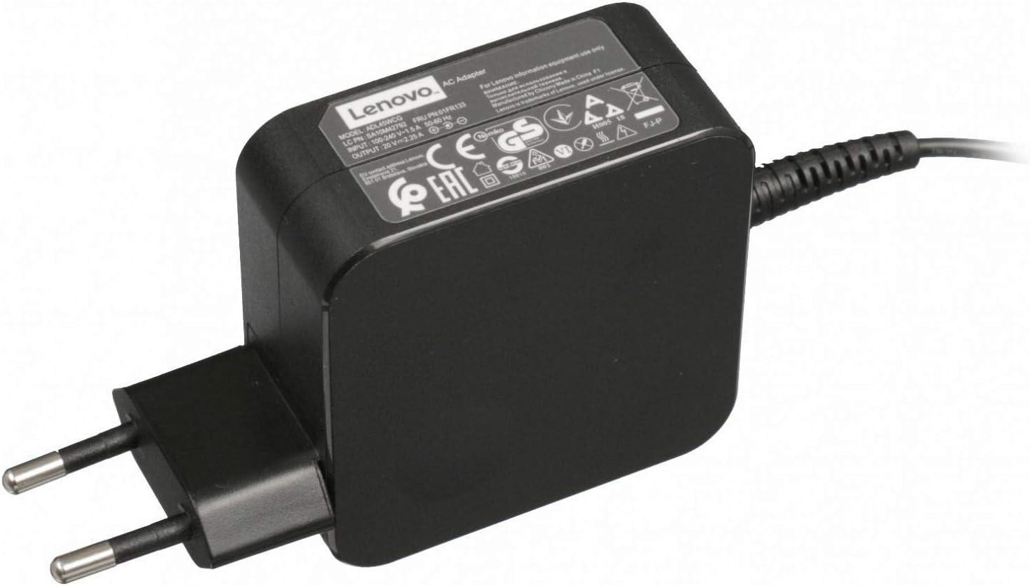 Lenovo Cargador 45 vatios EU wallplug Original para la série IdeaPad 110-15ISK (80UD): Amazon.es: Electrónica