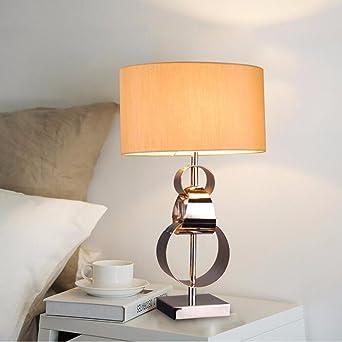 CJSHV-Lámpara de mesa Anillo de luz LED simple living dormitorio ...