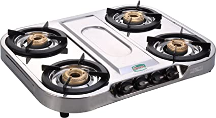 672a86f10 Buy Golden Surya Magma Stainless Steel -4 Burner Gas Stove Online at ...