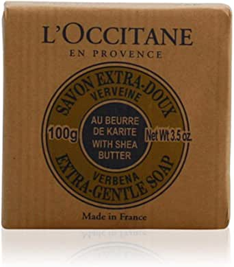 L'Occitane Shea Butter Extra Gentle Soap, Verbena, 100g