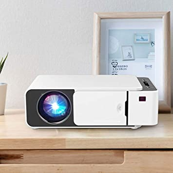 HongLianRiven Proyector de pequeña Oficina en casa HD 1280x720dpi ...