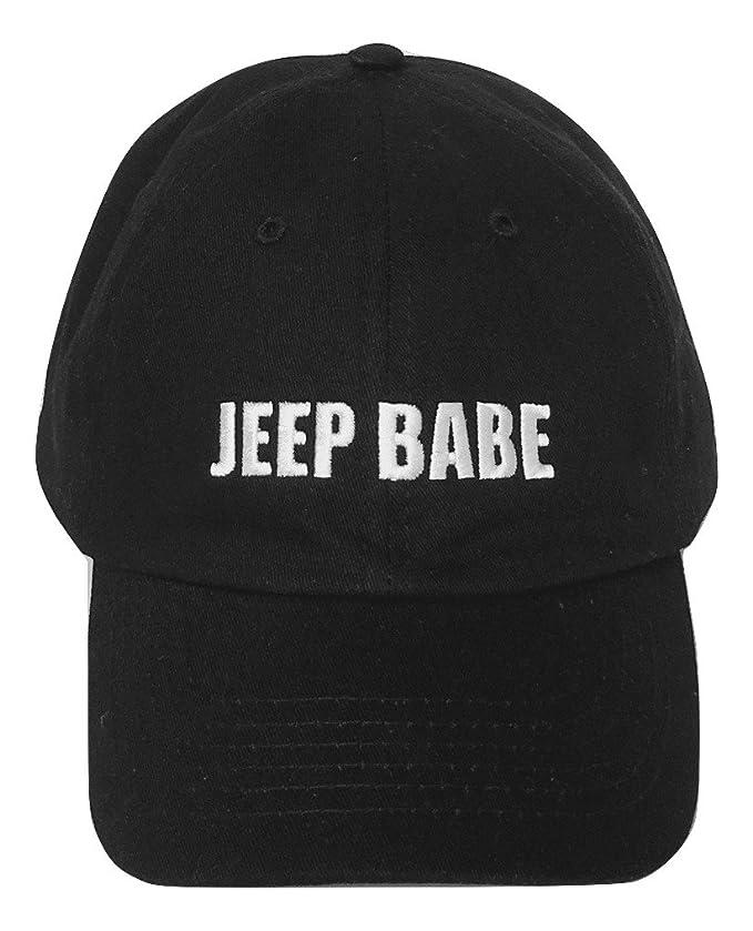 Ella jeeps - Lavar gorra de béisbol no estructurados - Jeep Babe ...