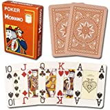 Modiano Cristallo 100% Plastic 4-Pip Jumbo Index Playing Cards