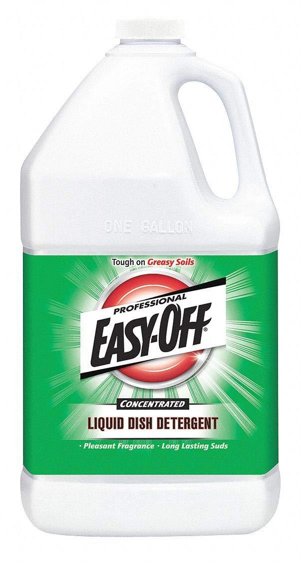 Dishwashing Soap, Hand Wash, 1 gal. Jug, Unscented Liquid, Ready to Use, 2 PK