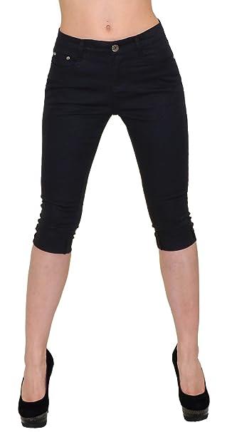 156116de5b Pantalones Capri by-tex para mujer capri