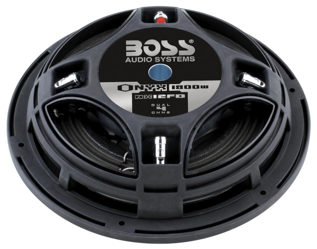 Boss Audio Nx12fd Onyx 12 Inch 1800 Watt Dual Voice Coil How To Wire Sub Product Description