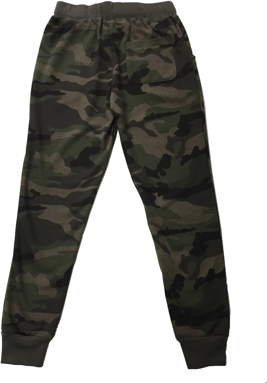 Women/'s Drawstring Camouflage Print Pants Elastic Waist Trousers Fitness Joggers