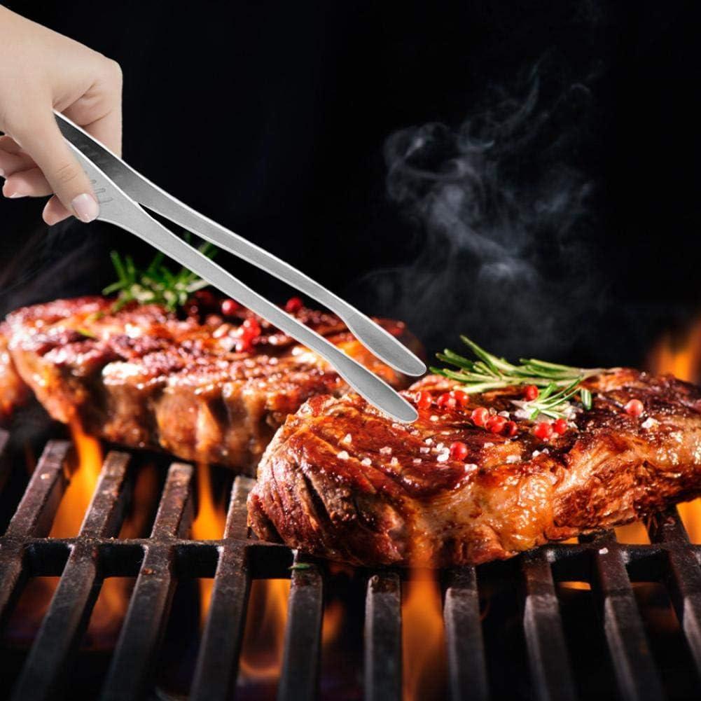 Ghiaccio Pinze per Alimenti Buffet Barbecue Dynamicoz Pinze da Cucina in Acciaio Inossidabile Premium Utile utensile per Cucinare Strumento Essenziale per Pleasure servire Forno Insalata