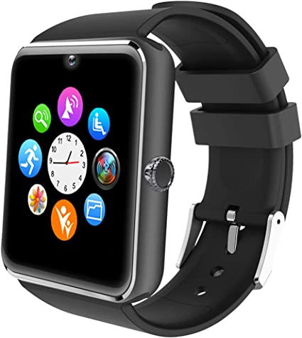 Willful Montre Connectée Homme Montre Telephone avec SIM pour Huawei Samsung Android Smartwatch Vibrante SMS Appel Smart Watch Tactile Montre