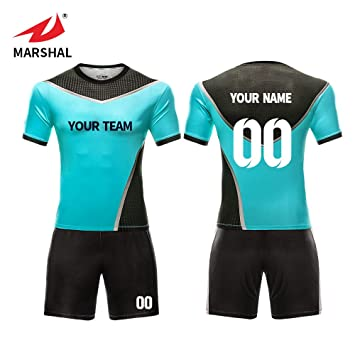 294b947e ZHOUKA Wholesale custom jersey soccer football sports jersey football kit soccer  shirt football uniform (Blue