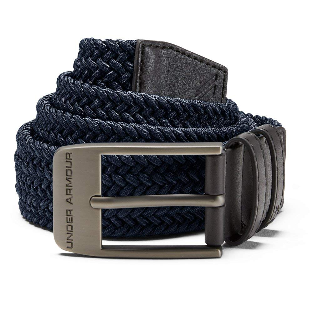 Under Armour Men's Braided 2.0 Belt, Academy, 32 by Under Armour