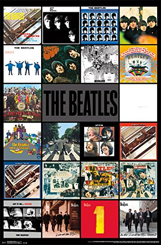 Trends International The Beatles Albums Wall Poster