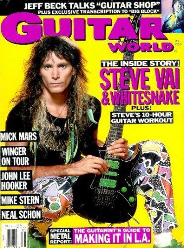 Guitar World - January 1990: Steve Vai & Whitesnake, Jeff Beck, Mick Mars, Neal Schon, and More!