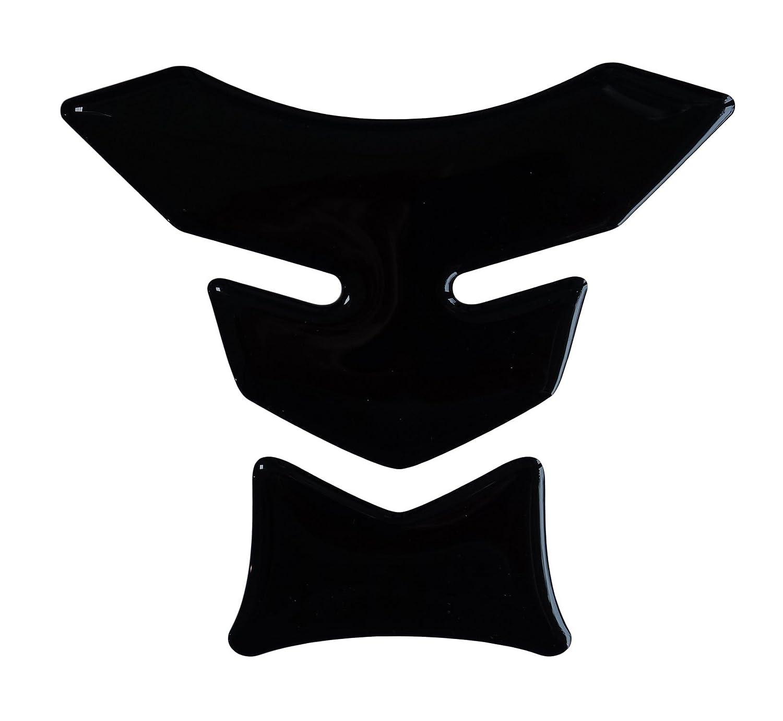 Tankpad Mini 3D - 501498 - Black / Schwarz - universell fü r Yamaha, Honda, Ducati, Suzuki, Kawasaki, KTM, BMW, Triumph und Aprilia Tanks Bike Label