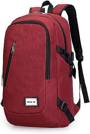 حقيبة ظهر للطلاب مضادة للسرقة وخفيفة الوزن للسفر مع منفذ شحن USB وواجهة سماعة الرأس DZ-905