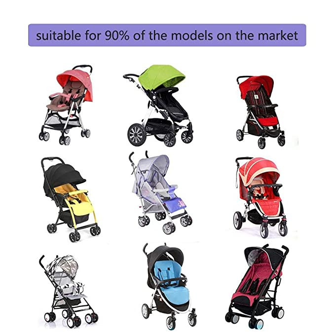 Amazon.com: Baby Stroller Weather Shields Stroller Rain Cover Universal, Windproof Rainproof Stroller Accessories: Home & Kitchen