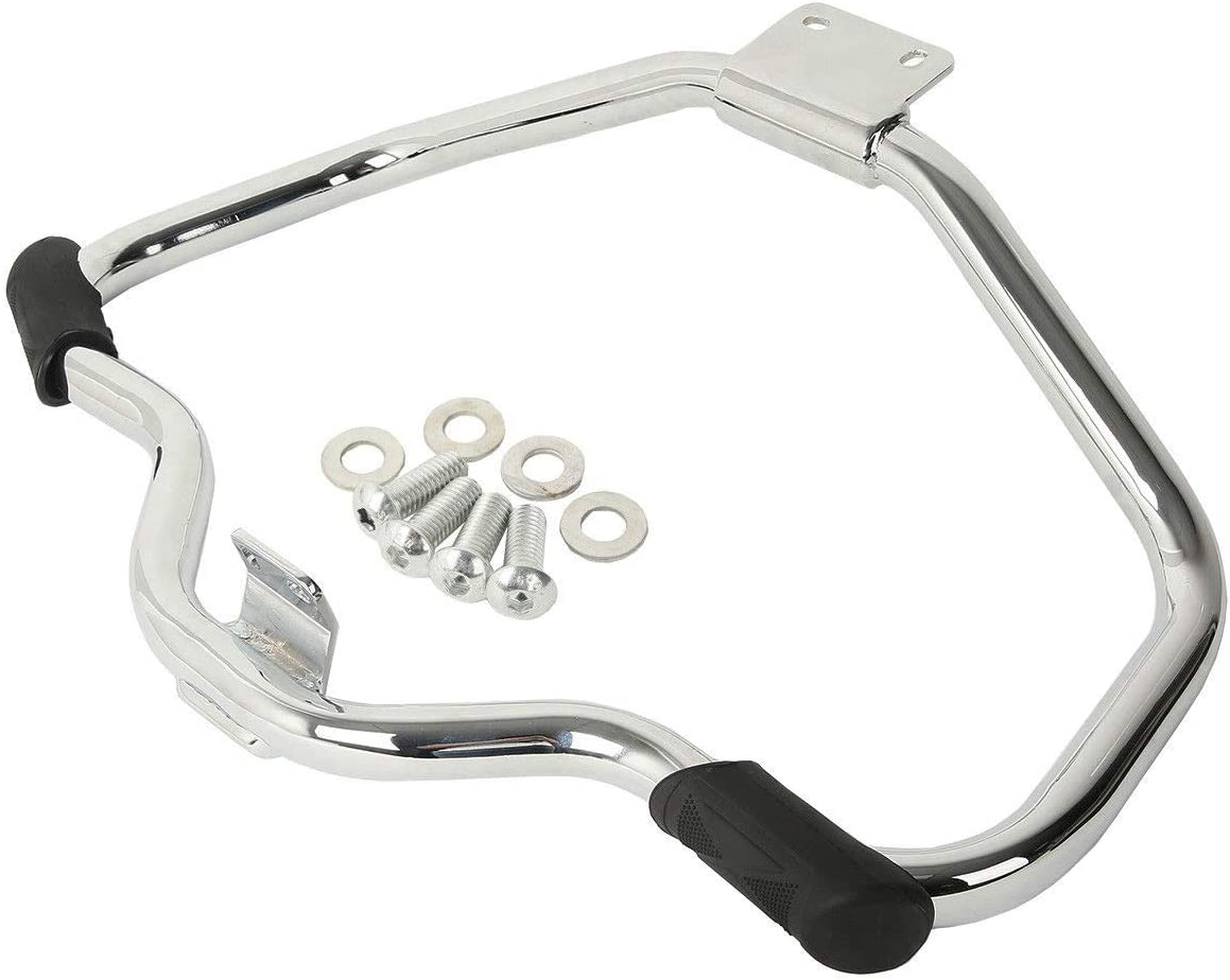 AUFER Chrome Mustache Engine Guard Highway Crash Bar Fits For Sportster XL883 XL1200 2004-2020