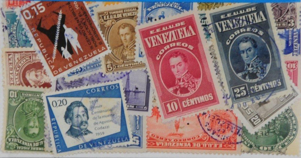 L330 Stamps 25 Venezuela