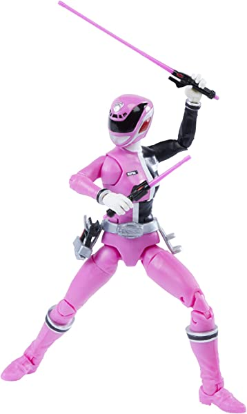 Power Rangers Lightning Collection Pink Ranger action figure