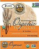 La Tortilla Factory Traditional Flour Organic Tortillas 2-Pack (32 Tortillas)