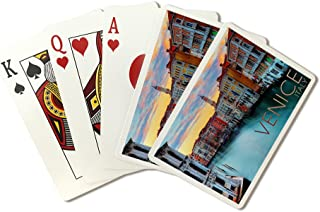 product image for Venice, Italy - Canal View (Playing Card Deck - 52 Card Poker Size with Jokers)