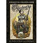 Lady Mechanika Steampunk Coloring Book 5