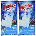 Windex All-In-One Window Cleaner Pads Refill - 2 ct - 2 pk