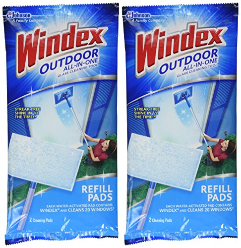 Windex All-In-One Window Cleaner Pads Refill - 2 ct - 2 -