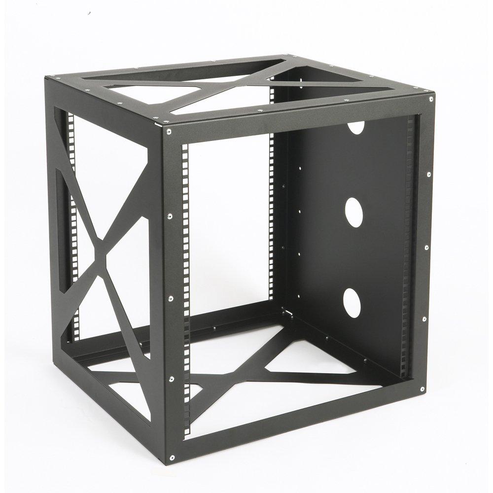 12U Side Load Wall Mount Rack by Connect-Tek