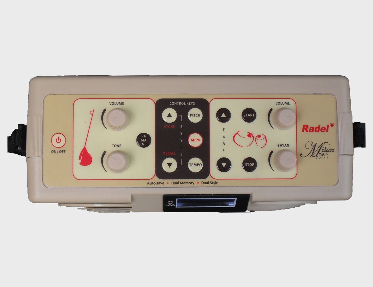 The Radel Milan is the first of its kind unique 2-in-1 Digital Tabla-Tanpura. by Radel (Image #2)